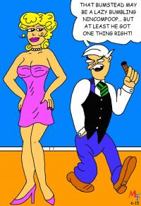 Blondie and Mr. Dithers