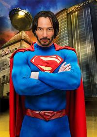 "Bad Casting 3: Keanu Reeves ""Superman"""