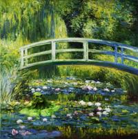 Period Piece: Water Lilies and Japanese Bridge (and a thing?)