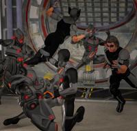 X-force vs Sentinels