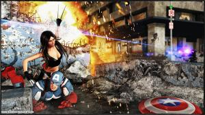 Captain America vs X23 pt2