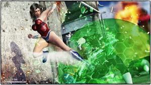 Wonder Woman v Green Lantern
