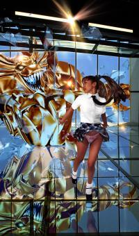 BANZAI GIRL: THE METAL MENACE! by Jinky Coronado & Jason Perkins