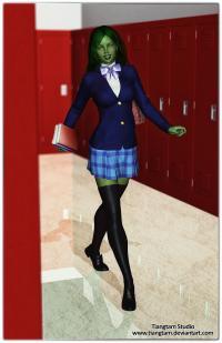 Teen She Hulk Back to School