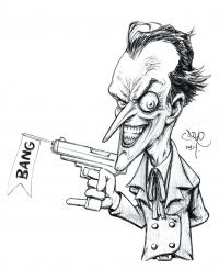 2014 - Joker: Armed and Humourous