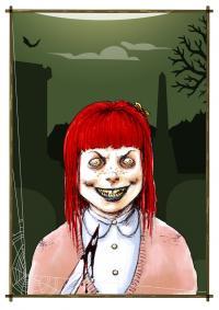 2014 - Horror Cards: Little Girl