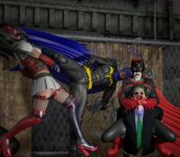 Women dynamic duo vs Joker's team