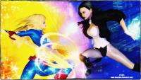 Zatanna vs. Star Girl