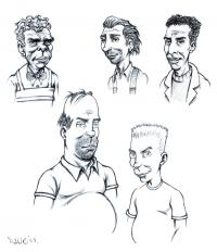 2008 - Simpsons in comic-style