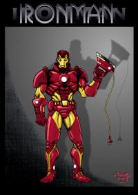 2007 - Graphic Mouse contest: Ironman Redesign