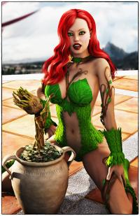 Poison Ivy with Baby G