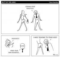 Strippen' - 2014: Butt of the Joke