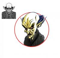 2015 Wellbound - Strip Characters Redesigns: Count Orlok
