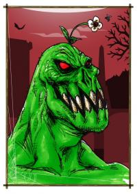2014 - Horror Cards: Garden-Variety Monster