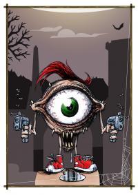 2014 - Horror Cards: Seymour Splatter