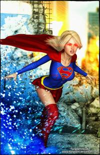 Supergirl Light'm Up