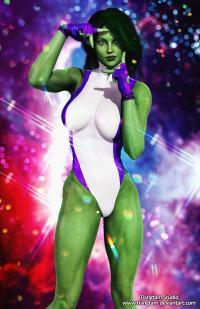 She Hulk Pin-up