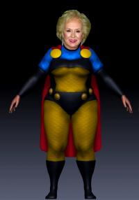 "Doris Roberts Tribute as ""Granny Goodness"""