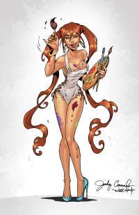 BANZAI GIRL:  Color Me Curvy! by Jinky Coronado