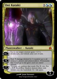 Oni Kataki: Planeswalker