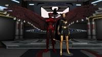 Red Eagle and Nightbird
