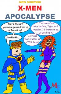Fanboy and Mary Jane go see X-Men: Apocalypse