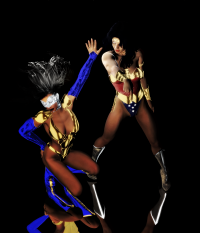 MANTRA AND WONDER WOMAN