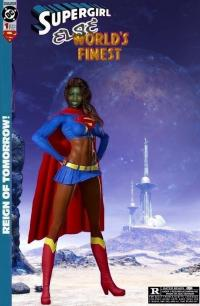 "Supergirl Else World's Finest ""Earthbound Ready"""