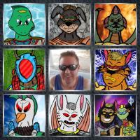 Art Vs Artist: Me And The Nine