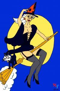 Sabrina and Salem
