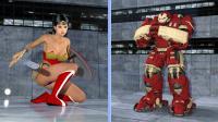 Wonder Woman VS Hulk Buster