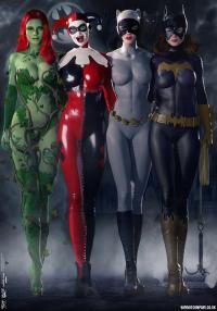 Gotham Girls Comic Series, Classic Comic Series