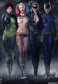 Gotham Girls Comic Series, Evolution Comic Series