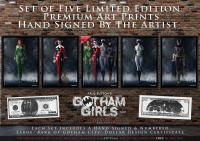 Gotham Girls Comic Series, Classic Comic Series Display
