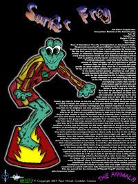 Surfer Frog