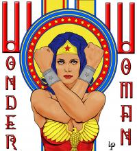 Period Piece: Wonder Woman Nouveau
