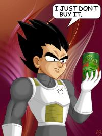 VEGETA AND THE PERFORMANCE ENHANCER
