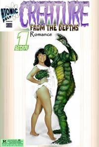 Atomic Pulp Comics: One Shot : Creature from the Depths :Romance