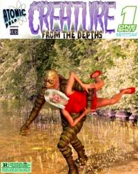 Atomic Pulp Comics: One Shot : Creature from the Depths :Obsession
