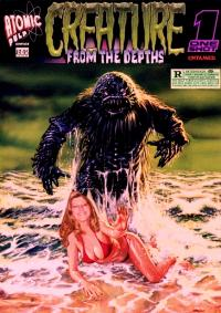Atomic Pulp Comics: One Shot : Creature from the Depths :Untamed