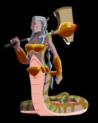 A Bruxa da Sombra da Ilha da Cobra Negra