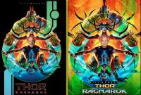 "DDNN Bill Murray ""Thor Ragnarok"" x 2"