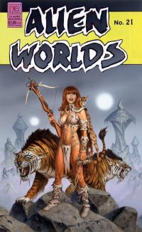 "Alien Worlds #21 ""Smilodon Guard"""