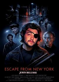 "DDNN John Belushi in ""Escape From New York"""