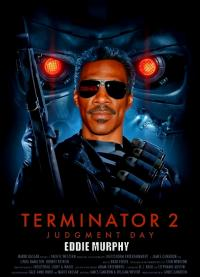 "DDNN Eddie Murphy in ""The Terminator 2 Judgement Day"""