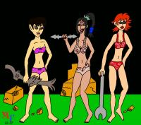 Ghosts N' Goblins Girls