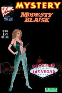 Mystery Modesty Blaise Viva Las Vegas #9 (Nite Cover Version)