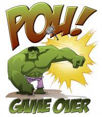 Hulk POW!