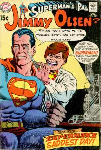 Cover Redo: Superman's Saddest Day