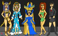 Queen Sophia and the Sorceresses